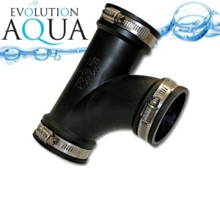 "EPDM T-kus 50 - 38mm 1 1/2"", Evolution Aqua"