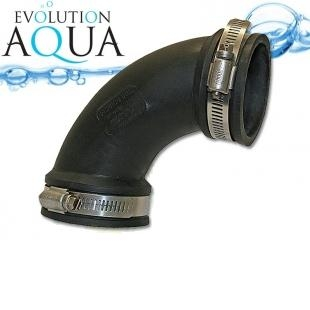 "EPDM koleno 50 - 38mm 1 1/2"", Evolution Aqua"