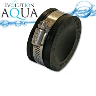 "EPDM koncovka 50 - 38mm 1 1/2"", Evolution Aqua"